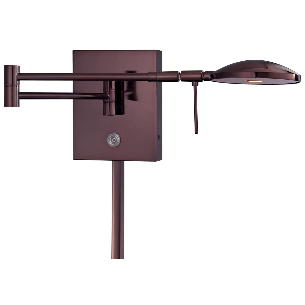 George Kovacs Georges Reading Room P4338 Swing Arm Wall Lamp by George Kovacs