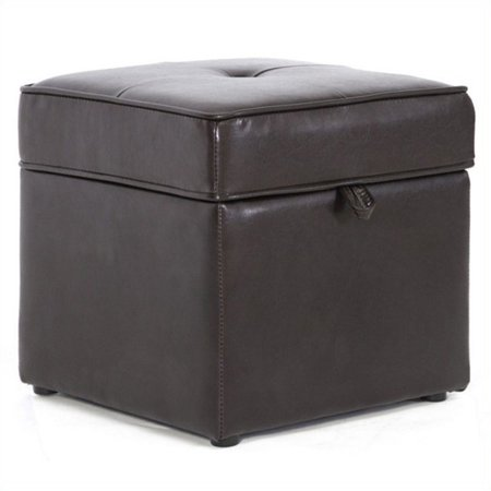 Astonishing Baxton Studio Sydney Brown Modern Ottoman Storage Ottoman Caraccident5 Cool Chair Designs And Ideas Caraccident5Info