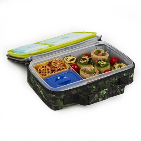 bento lunch box containers walmart freshware 15 pack 1 compartment lunch bento box reusable. Black Bedroom Furniture Sets. Home Design Ideas