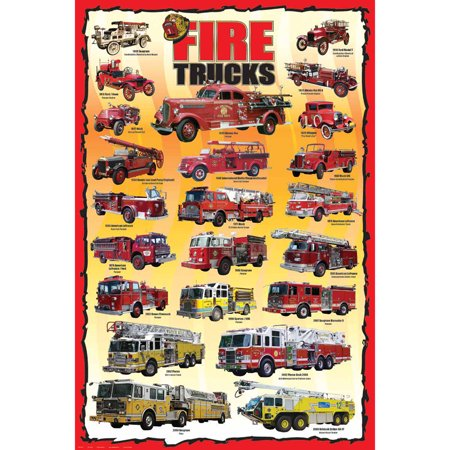 how to draw a fire truck for kids