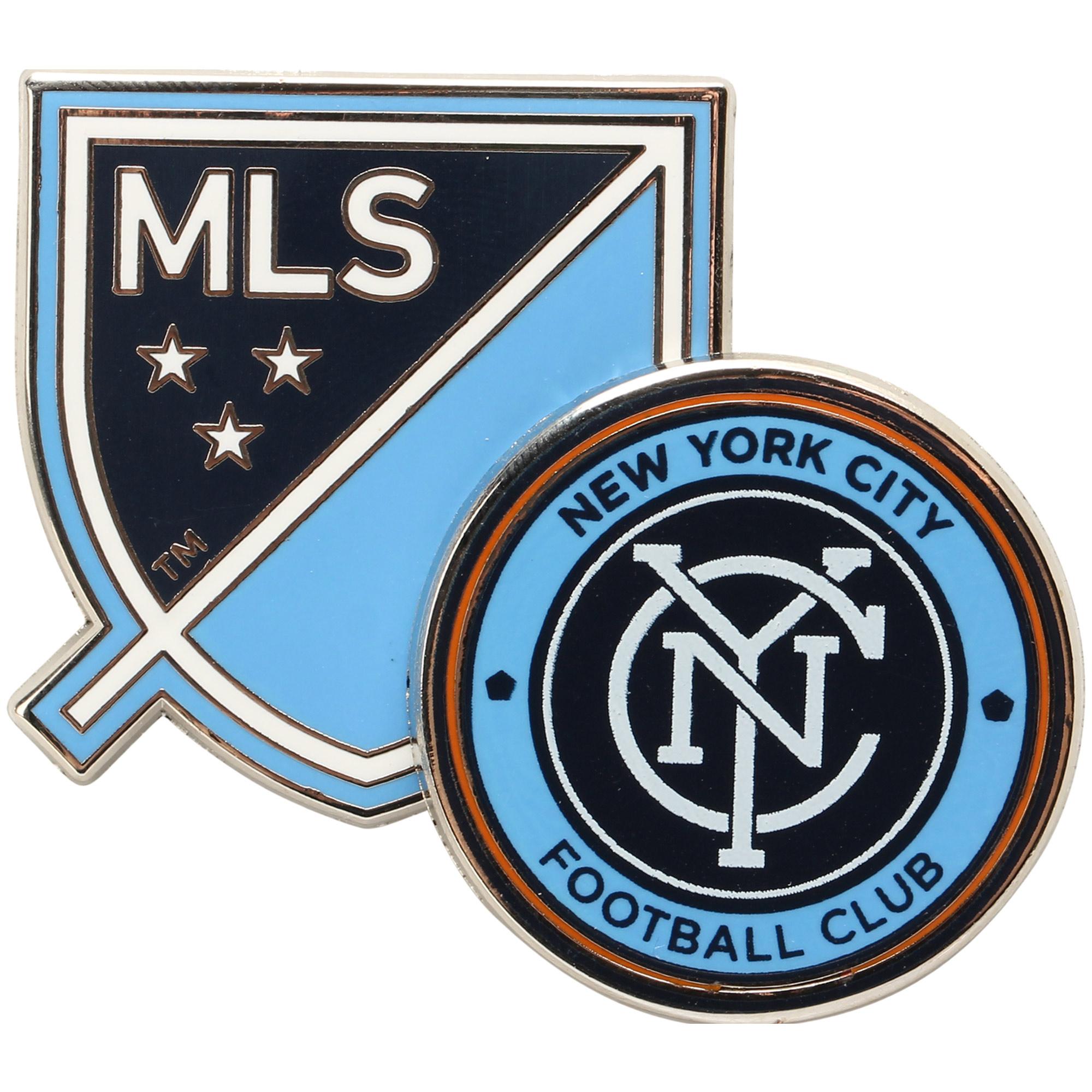 New York City FC Dual Logo Pin - No Size