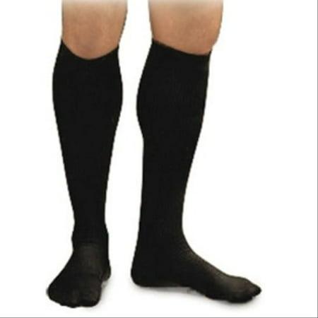 Image of Activa Men's 15 20 Mmhg Dress Socks Navy Medium