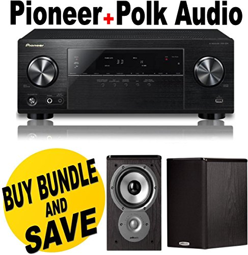 Pioneer VSX-524-K Audio and Video Component Receivers + P...