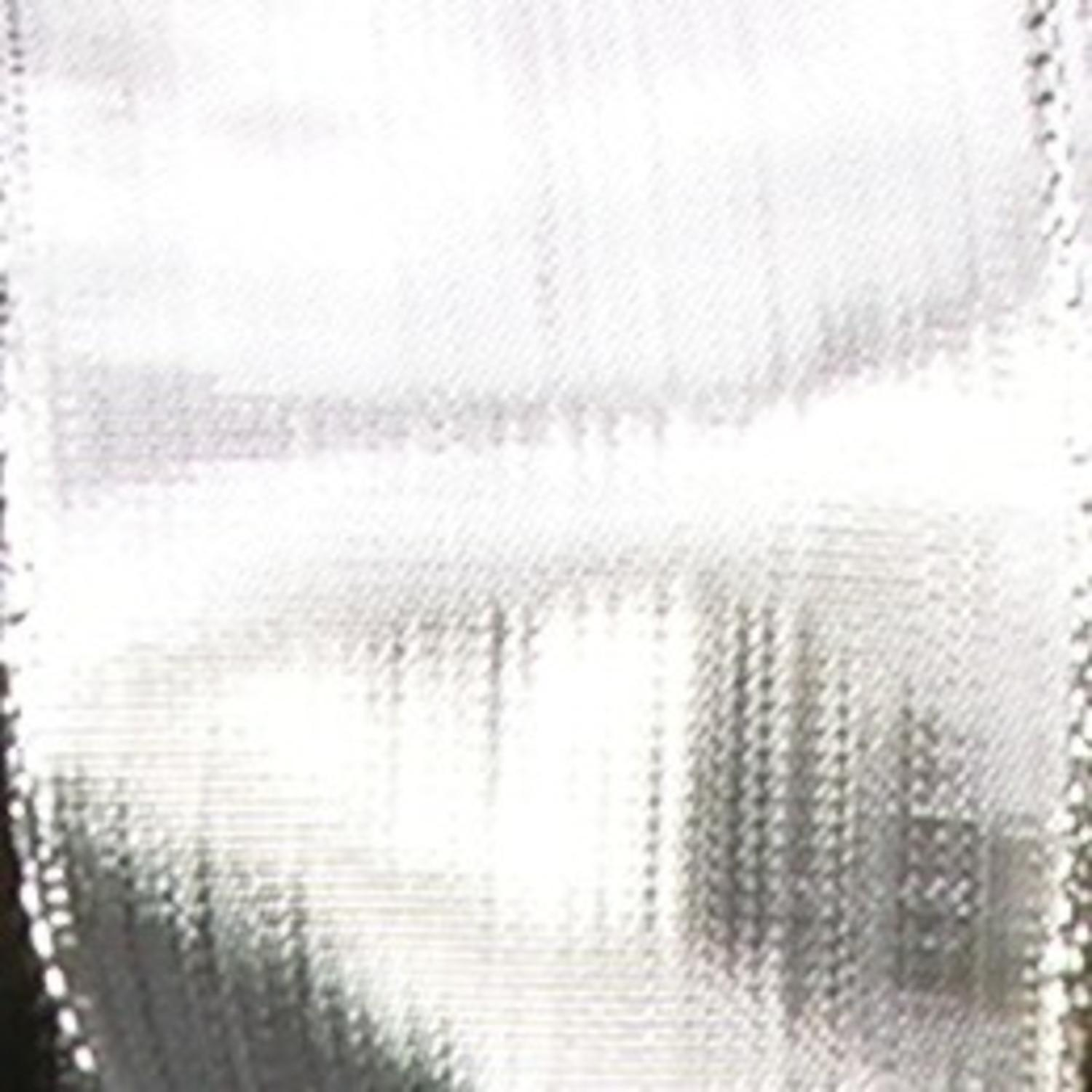 "Shimmering Silver Woven Metallic Wired Craft Ribbon 1"" x 108 Yards"