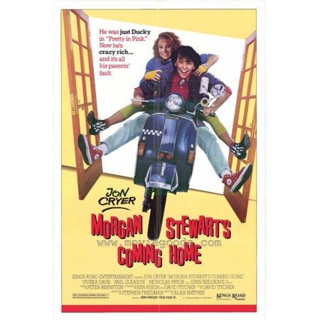 Morgan Stewarts Coming Home Movie Poster  11 X 17