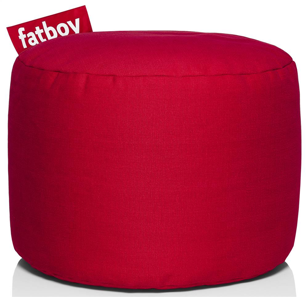 Point Bean Bag in Red
