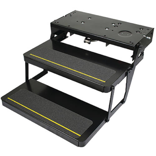 "Power Gear Kwikee 372261 Automatic Electric RV Steps with 24"" Double Tread & Motor, Control Unit & Switch Kit"