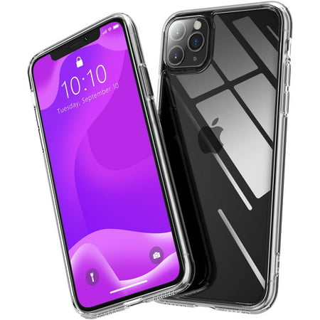 iPhone 11 Pro Case, Crystal Clear Ultra-thin Soft TPU with Reinforced Corners Bumper Flexible Transparent Scratch Resistant Anti Slip for iPhone 11 Pro 2019 5.8