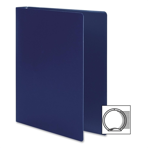 Acco Brands, Inc. Accohide Poly Ring Binder w/23-Pt. Cover, 1/2in Capacity (Set of 3)
