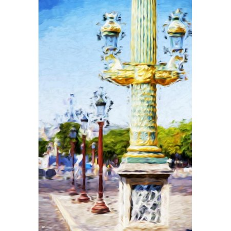 Paris Architecture III - In the Style of Oil Painting Print Wall Art By Philippe