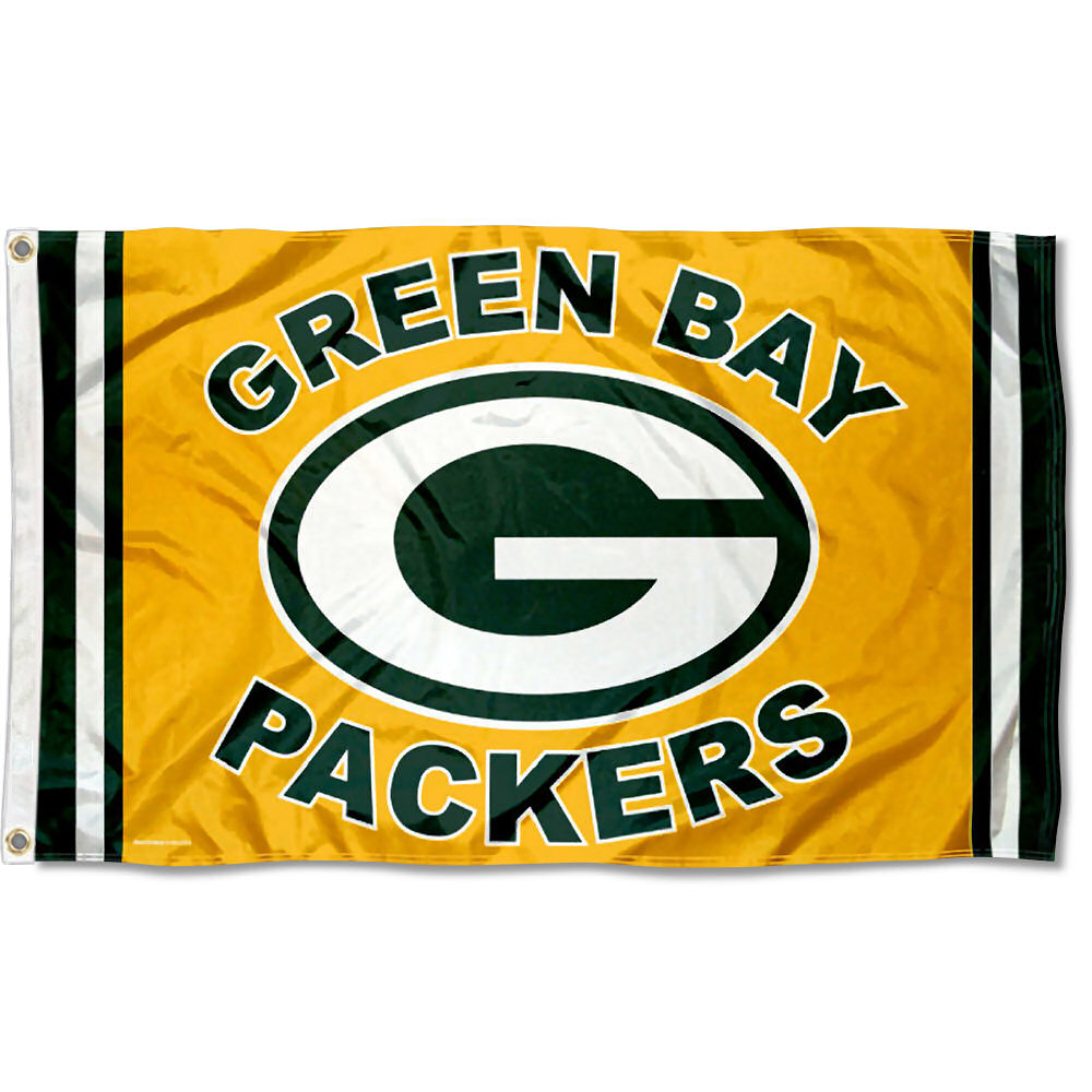 NFL Green Bay Packers Green and Gold 3' x 5' Flag