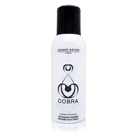 Cobra by Jeanne Arthes for Women 5.1 oz Perfumed Deodorant Body Spray Perfumed Deodorant Body Spray