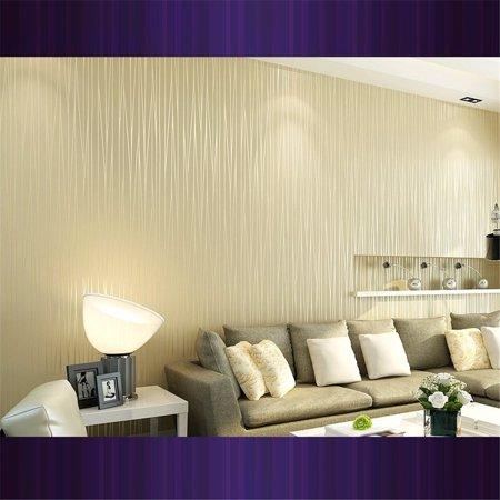 LeKing Simple striped non-woven wallpaper - image 6 of 6