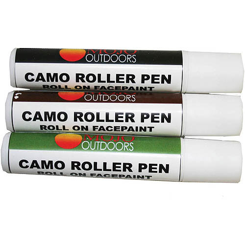 Mojo Outdoors Camo Roller Pen, 3-Pack