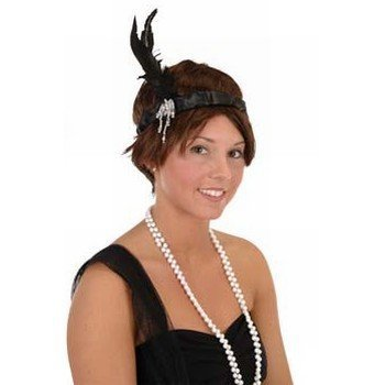 Flapper Headband Party Accessory (1 count) (1/Pkg)](Flappers Party)