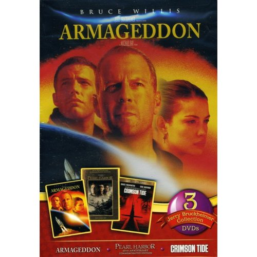 Jerry Bruckheimer 3 Pack: Armageddon / Pearl Harbor / Crimson Tide (Widescreen)