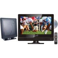 "Supersonic 13.3"" Class - HD LED TV/DVD Combo - 720p, 60Hz (SC-1312) and SC-611 HDTV Flat Digital Antenna"