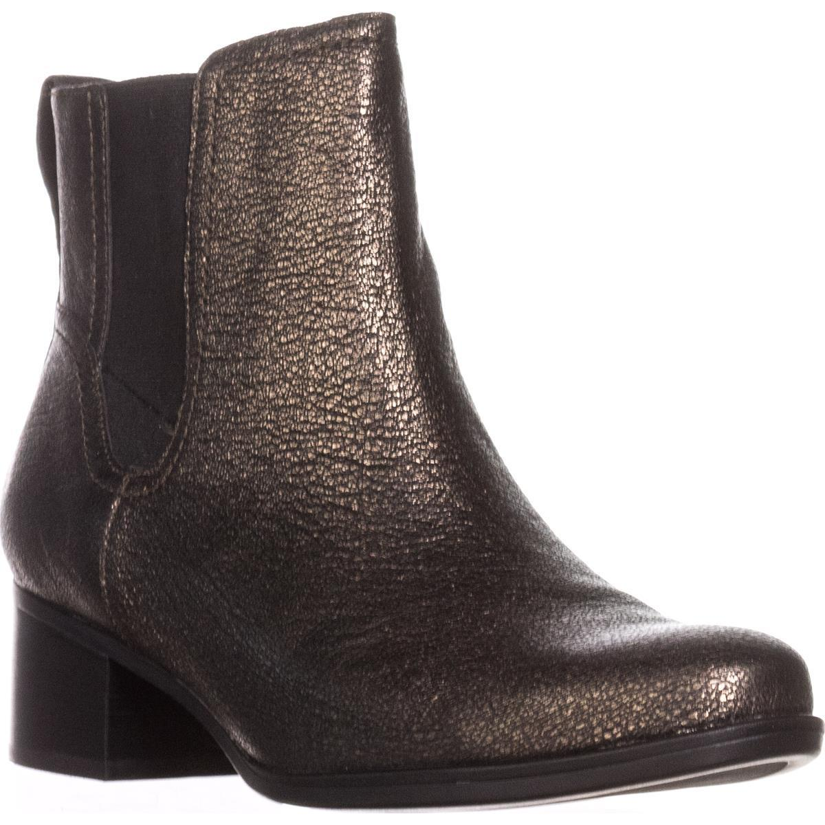 Womens Naturalizer Dallas Ankle Boots, Bronze by Naturalizer