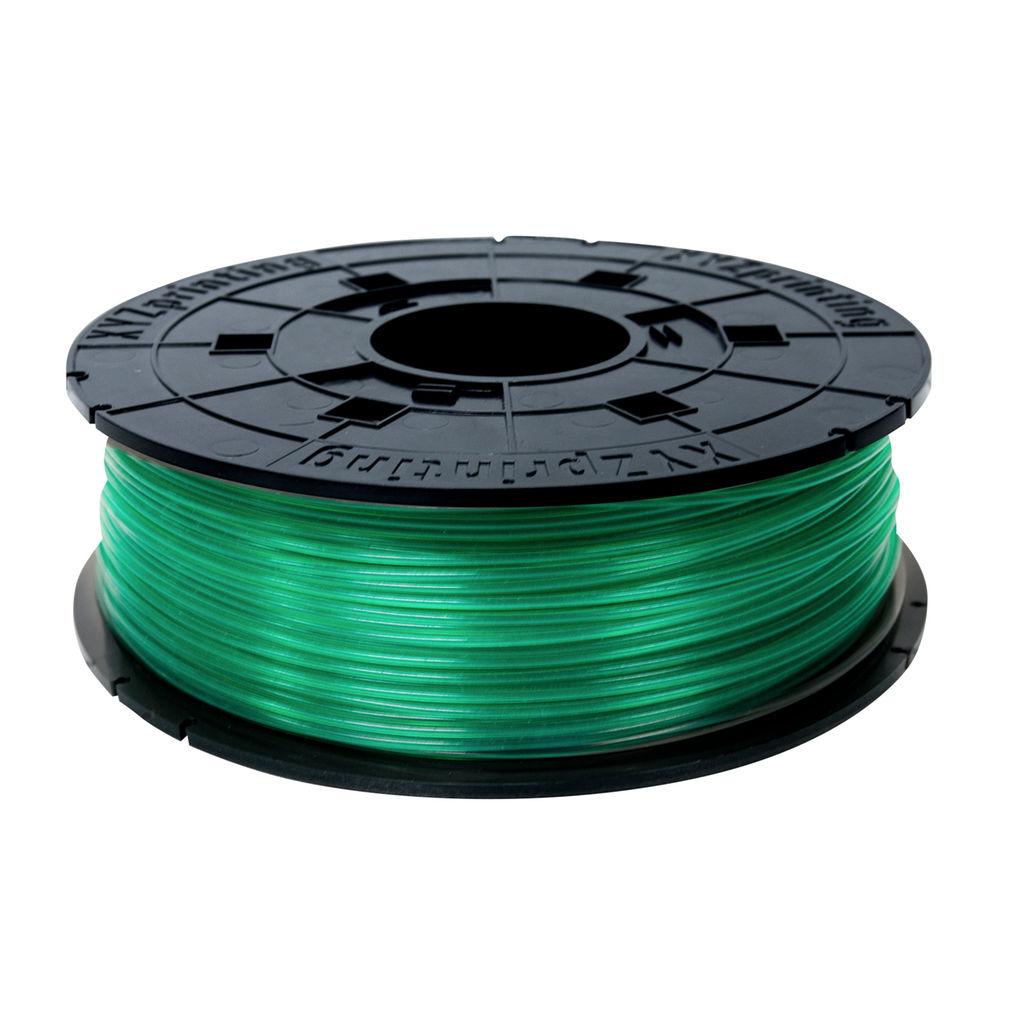 XYZprinting PLA Refill Filament - CLEAR GREEN (EEPROM Style for da Vinci 1.0, 1.0 AiO & 1.1 Plus, da Vinci 2.0 Duo, da Vinci 1.0 Pro & Pro. 3in1)