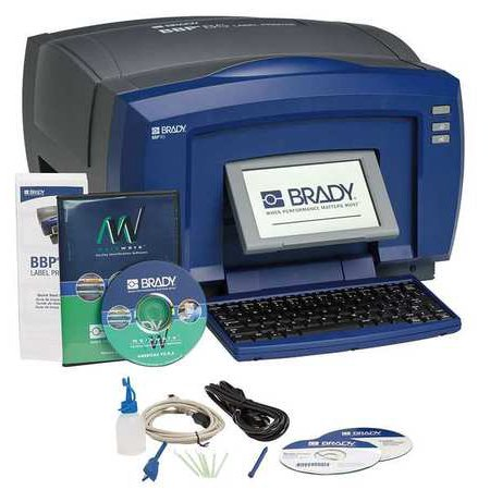 BRADY BBP85-MWL Desktop Label Printer Kit,BBP85,10inTape