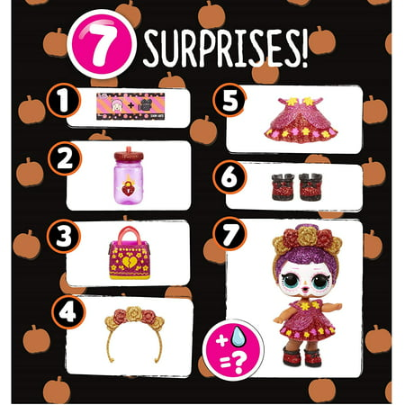 L.O.L. Surprise! Spooky Sparkle Limited Edition Bebé Bonita with 7 Surprises, including Glow-in-the-Dark Doll