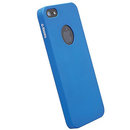 Krusell Iphone Case - Krusell 89732 ColorCover Case for NEW iPhone 5/5s - Blue