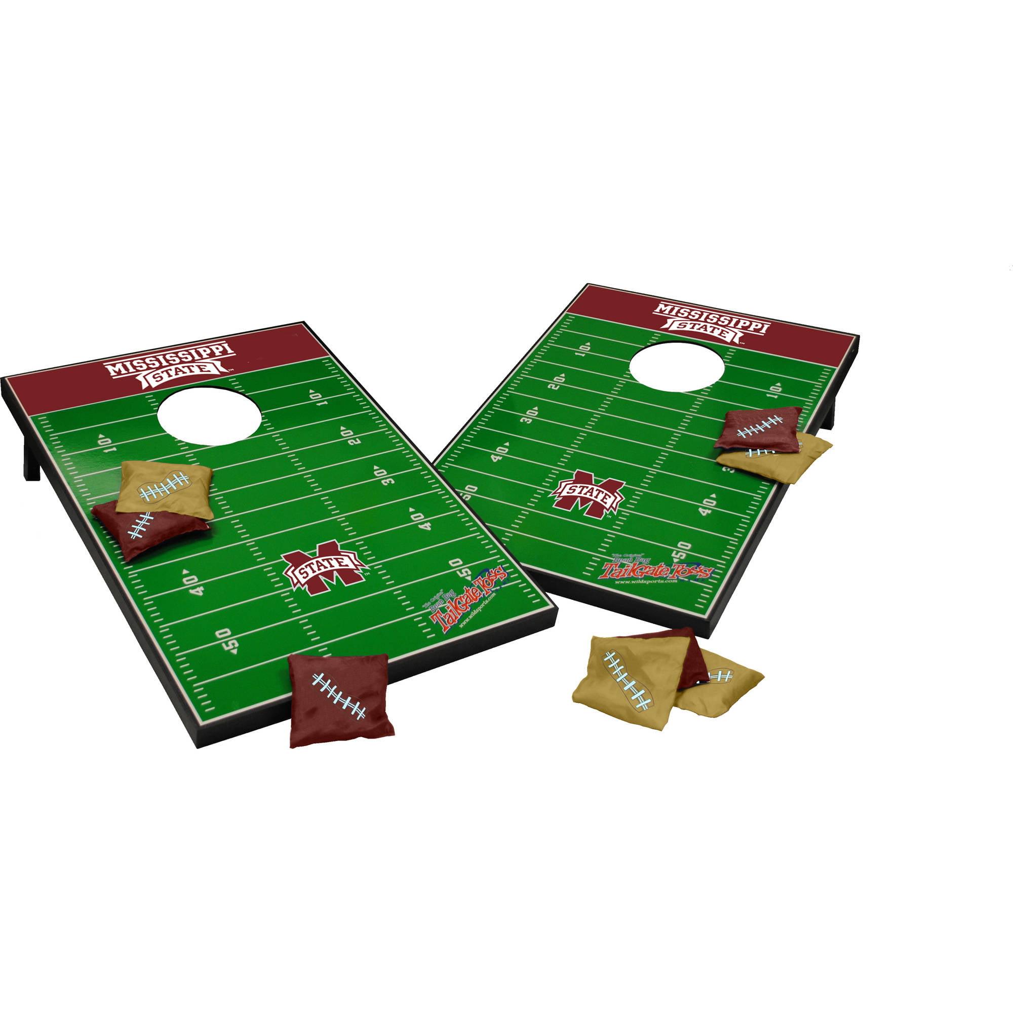Wild Sports Collegiate MIssissippi State 2x3 Field Tailgate Toss