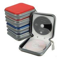 Portable 40 Disc Double-side CD DVD Holder Storage Case Organizer Holder Wallet Cover Bag Box