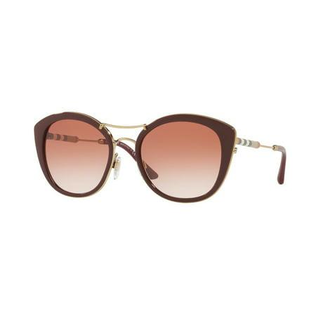 Burberry  BE 4251Q 340313 Womens  Round Sunglasses Burberry Oversize Round Sunglasses