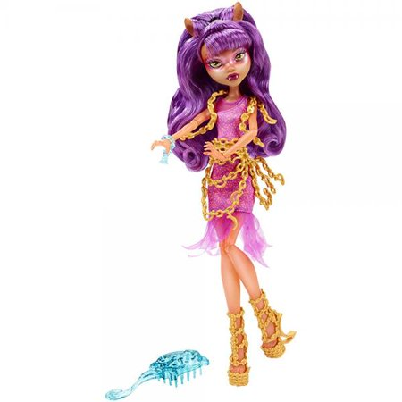 Monster High Haunted Getting Ghostly Clawdeen Wolf Doll - Monster High Clawdeen