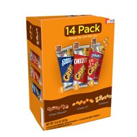 Kellogg's Gripz Variety Snack Pack, Chips Deluxe, Cheez-It & Grahams, 0.9 oz, 14 Count