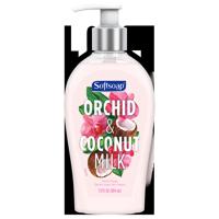 Softsoap Liquid Hand Soap Pump, Orchid & Coconut Milk, 13 oz