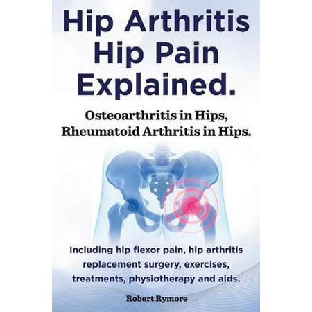 Hip Arthritis, Hip Pain Explained. Osteoarthritis in Hips, Rheumatoid Arthritis in Hips. Including Hip Arthritis Surgery, Hip Flexor Pain,