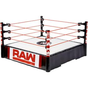 Wwe Authentic Scale Wrestling Ring W 3 Ring Skirts Exclusive Wwe Toy Wrestling Action Figure Accessories