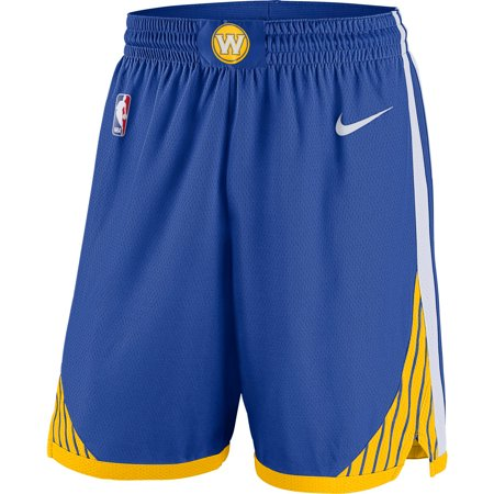 Golden State Warriors Nike Icon Swingman Basketball Shorts - Royal