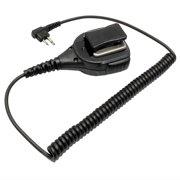 MaximalPower External Speakers and Mic w/ Push-to-Talk Button for Motorola HMN9030 Fits Motorola GP300 Two Way Radio