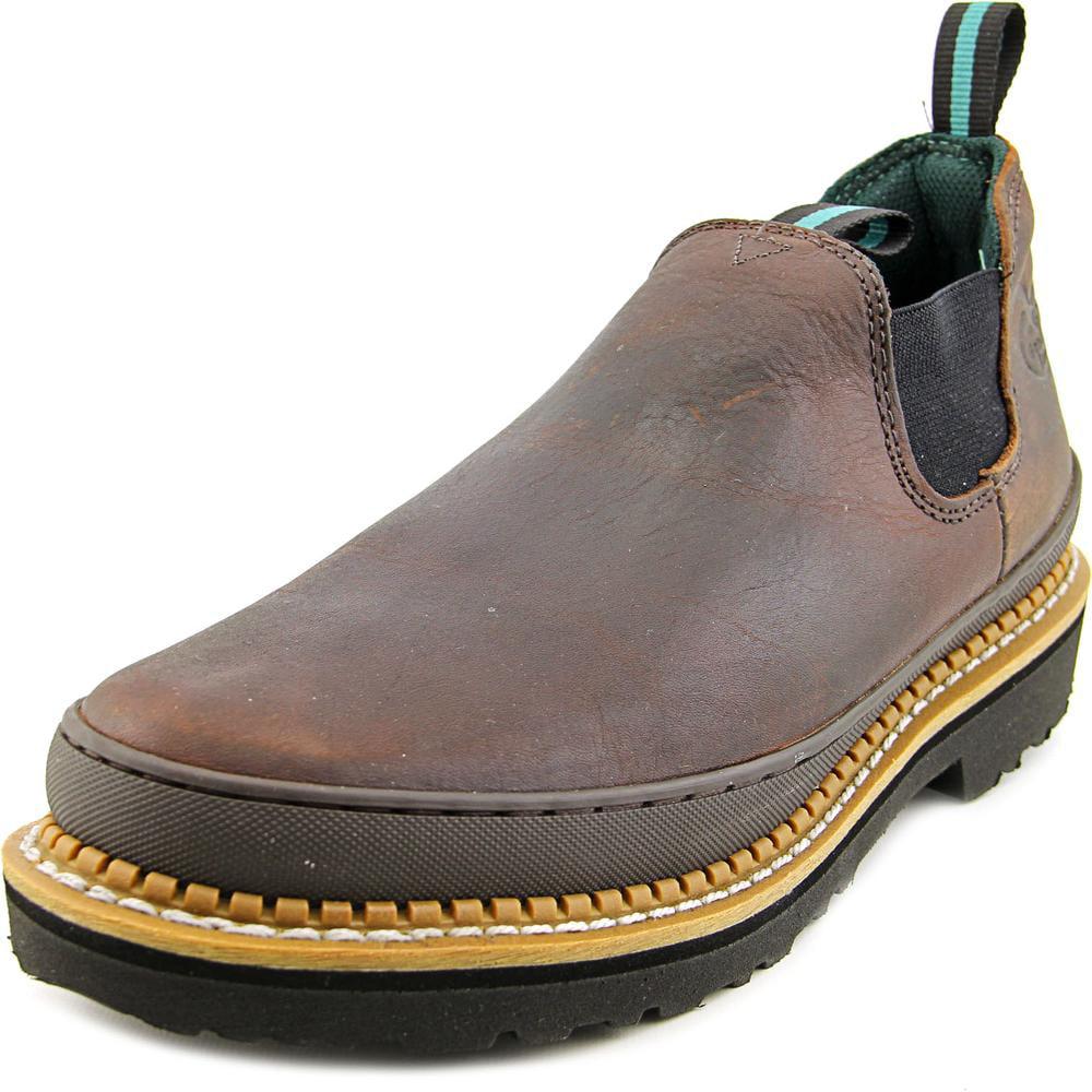 Georgia Boot Giant Romeo Men W Steel Toe Leather Brown Work Boot by Georgia Boot