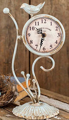 Attractive and Graceful Songbird Desk Clock by