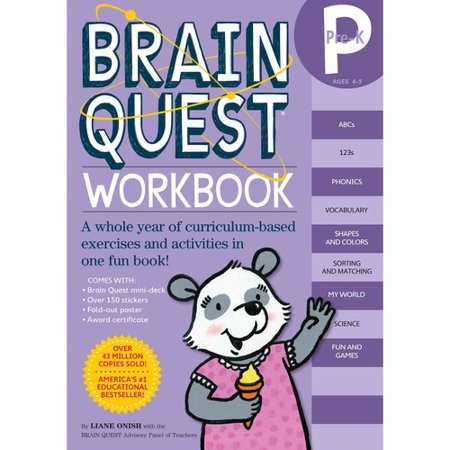 Brain Quest Workbook Pre-K - Brain Quest Kindergarten