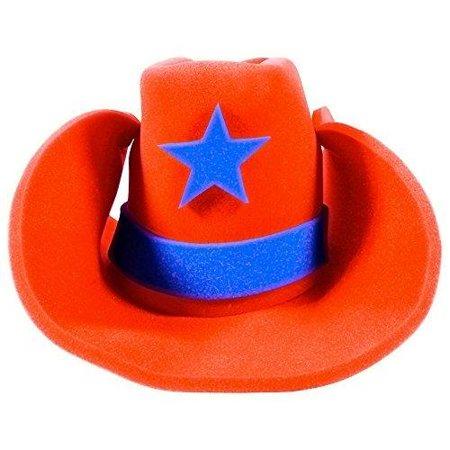 Huge Funny Cowboy Hats Crazy Super Size Cowgirl Hat Funny Party Hats -  Walmart.com 8c287b9ec33