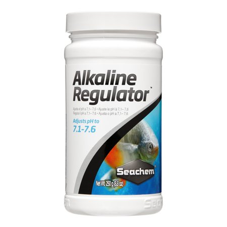 Seachem Laboratories Alkaline Buffer (Seachem Alkaline Regulator Water Treatment Fish & Aquatic Life Supplement, 8.4 Oz )