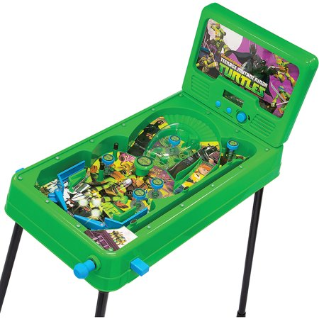 Teenage Mutant Ninja Turtles Pinball Machine with Mikey ...