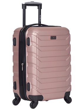 """20"""" MADISON HEIGHTS EXPANDABLE HARDSIDE CARRY-ON, BLACK"""