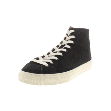 Coach Womens C216 Suede High Top Fashion Sneakers ()