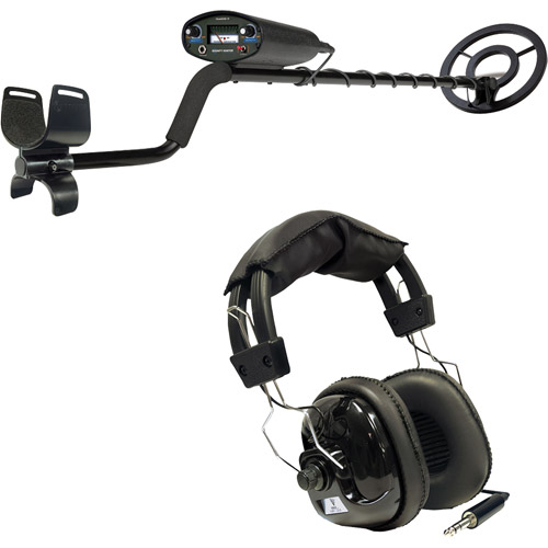 Bounty Hunter Tracker IV Metal Detector and Headphones
