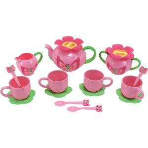 Melissa   Doug Bella Butterfly Tea Set   Food Safe Plastic Tea Party Set   Includes Ideas To Inspire Hours Of Games And Imaginative Play Patch Outdoor   Indoor Lifestyle