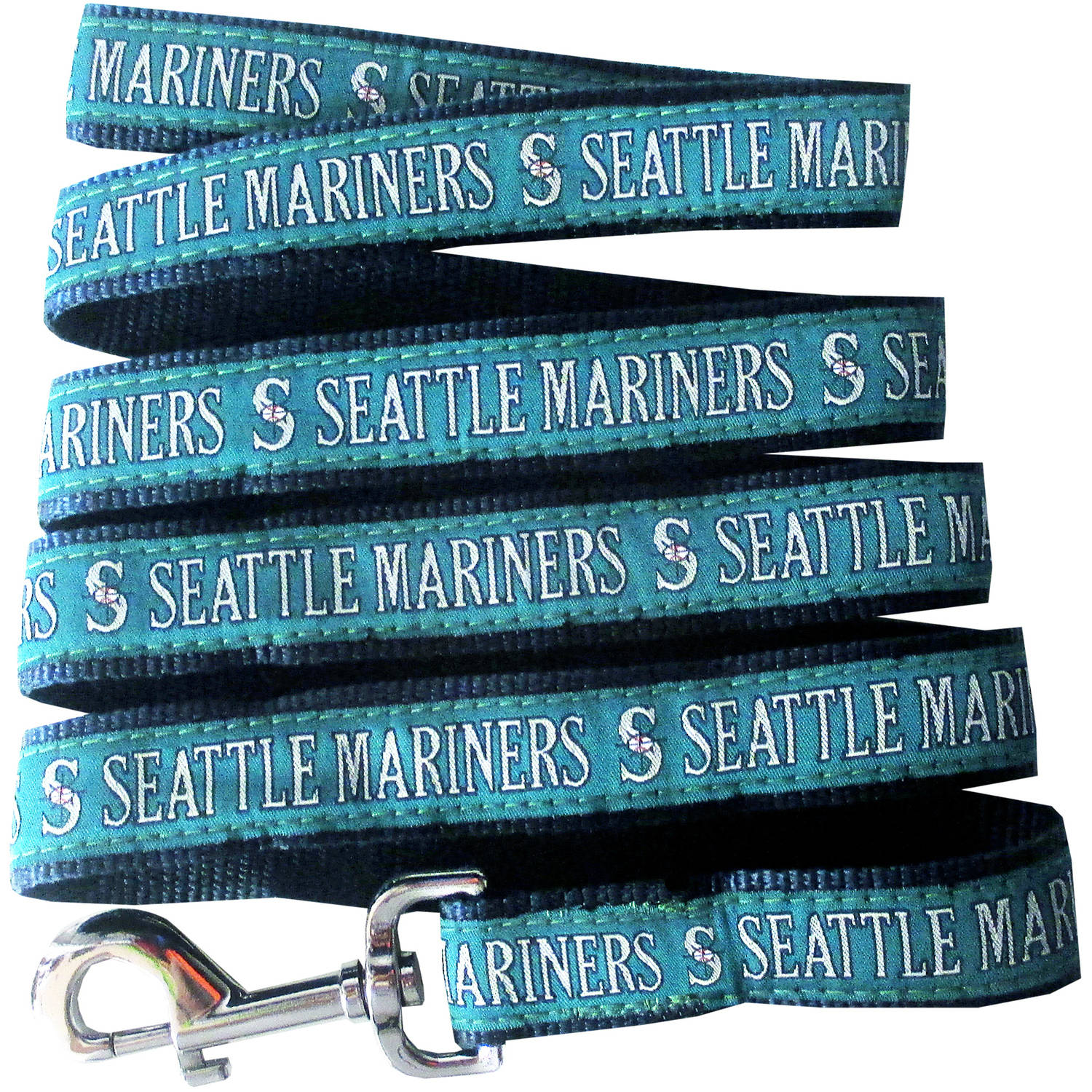 Pets First Seattle Mariners Pet Leash, Small
