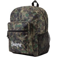 "NCAA Nebraska Cornhuskers ""Daybreak"" Backpack, 17"" x 7.5"" x 12.5"" - Camo"