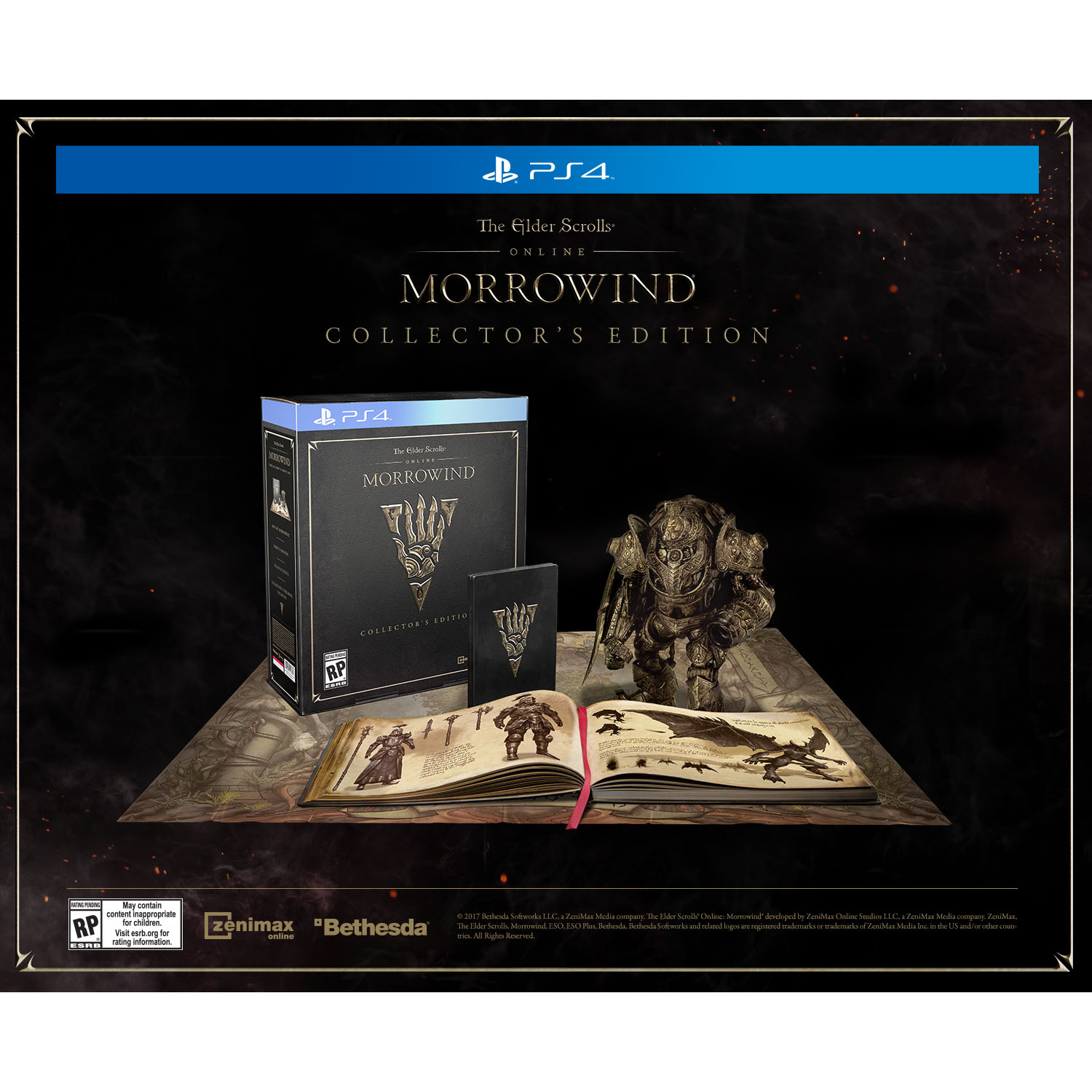 Elder Scrolls Online Morrowind Collector's Edition PS4