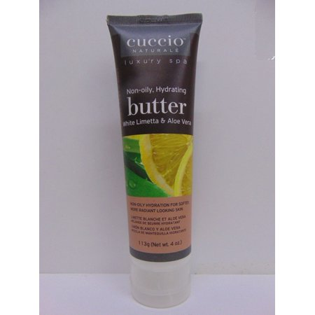 (Pack of 3) Cuccio Naturale Luxury Spa Non-oily Hydrating Butter - White Limetta & Aloe Vera 113g 4oz